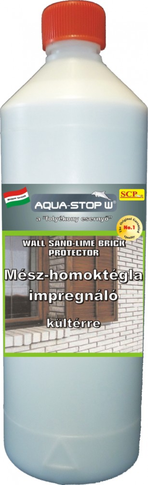 Mészhomoktégla impregnáló kültérre 1 liter - Sand Lime Brick Protector Professional