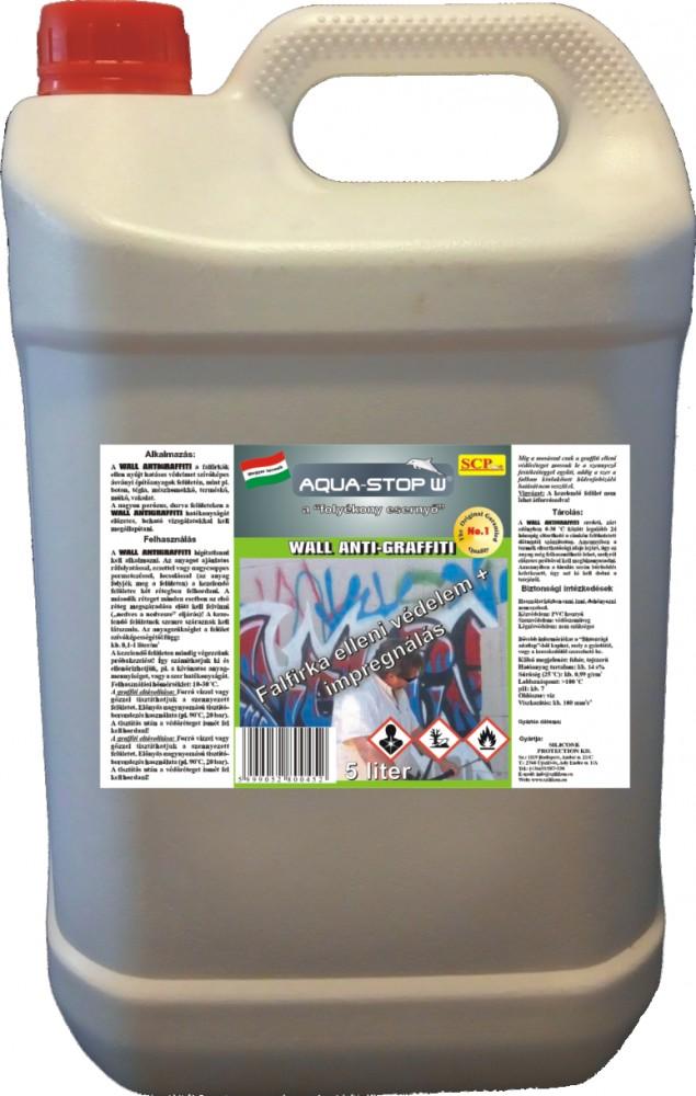 Falfirka elleni impregnáló - Wall Anti-Graffiti 5 liter