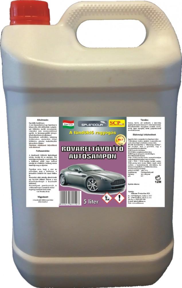 Rovareltávolító autósampon 2 in 1 5 liter