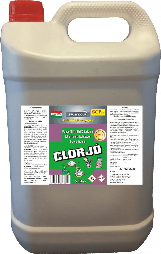 Clorjó fehérítő- és tisztítószer 5 liter