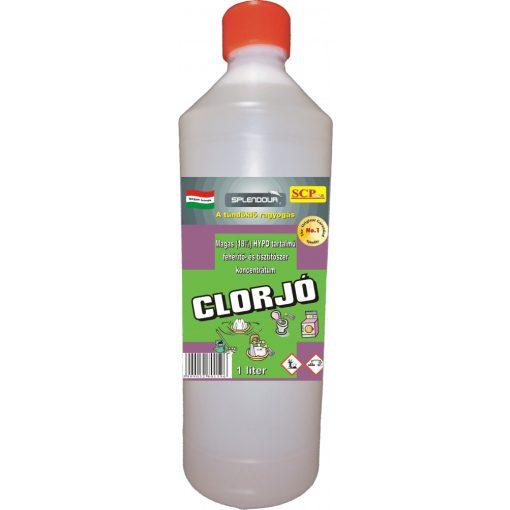 Clorjó fehérítő- és tisztítószer 1 liter, extra - 18% hypo-tartalom