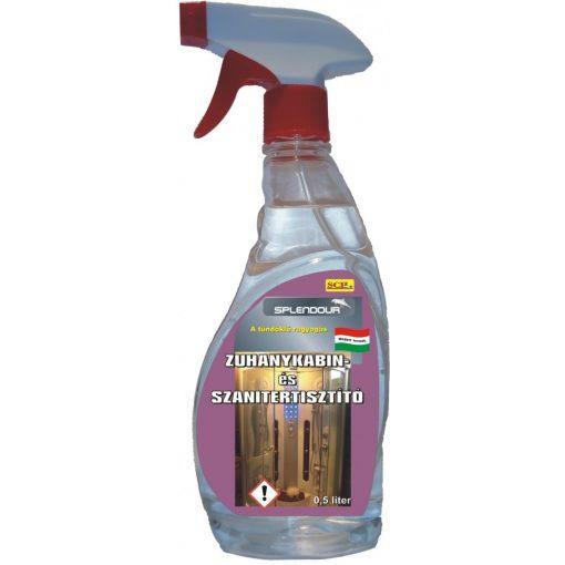 Zuhanykabin- szanitertisztító 0,5 liter