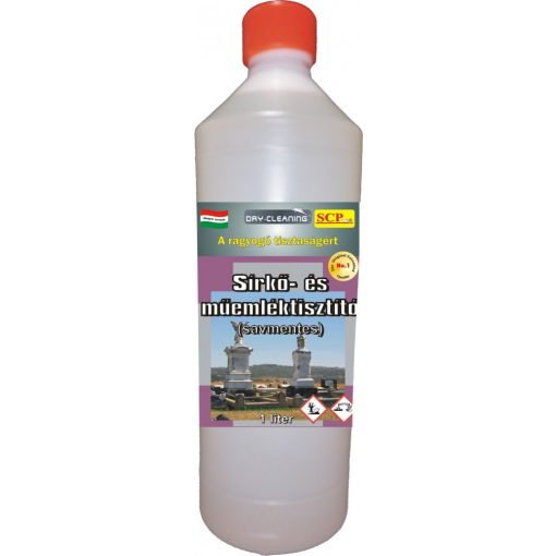 Sírkő- és műemléktisztító 1 liter