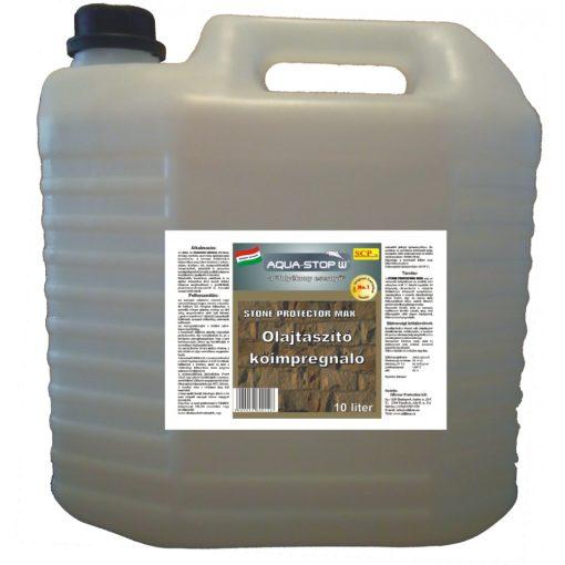 Olajtaszító kőimpregnáló - Stone Protector Max 10 liter
