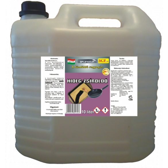 Hideg zsíroldó 10 liter
